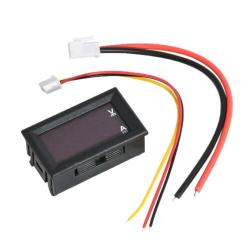 LED Anzeige DC 10A 0 100V 10A Dual Digital Voltmeter Amperemeter Red /& Red