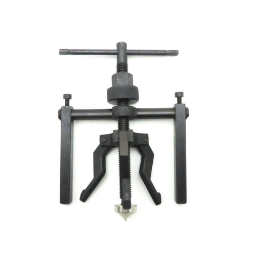 Black 3-jaw Inner Bearing Puller Gear Extractor Heavy Duty Automotive Tool A3E8