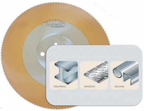 HSS PVD Gold Kreissägeblatt - Ø 300 mm x 2,5 mm x 32 mm   Z=160 HZ