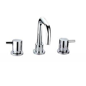 Cesena Bathroom Lollypop 3 Piece Basin Tap Set Vanity Taps Faucets 1 4 Turn Ebay