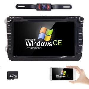 8 dash car dvd cd player stereo for vw volkswagen gps. Black Bedroom Furniture Sets. Home Design Ideas