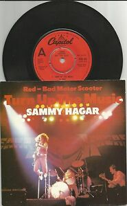 Sammy-Hagar-Van-Halen-Turn-The-Music-Up-rare-demo-vinyl-single