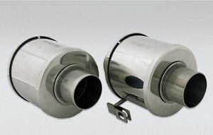 FOR-PORSCHE-356-B-C-SET-HEATER-CONTROL-BOX-VALVE-STAINLESS-STEEL-NEW-R-L