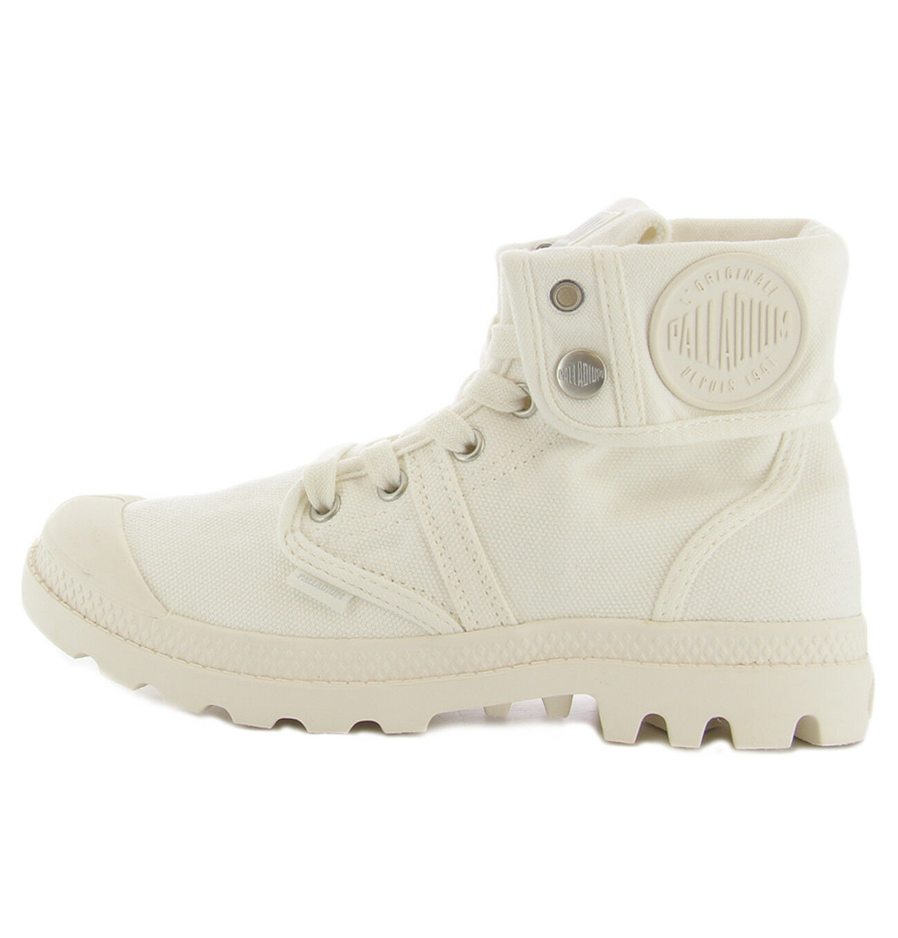shoes Pallabrouse whitehes Palladium pour femme Palladium LADY PALLABROUSEW