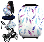 Hicoco 3 in 1 Stretchy Baby Car SEAT Shopping Cart and Nursing Cover