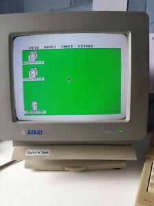 ATARI 1040STe  +  SMM804 + SH205 + SC1224 + SCANNER + TRACK BALL + MOUSE