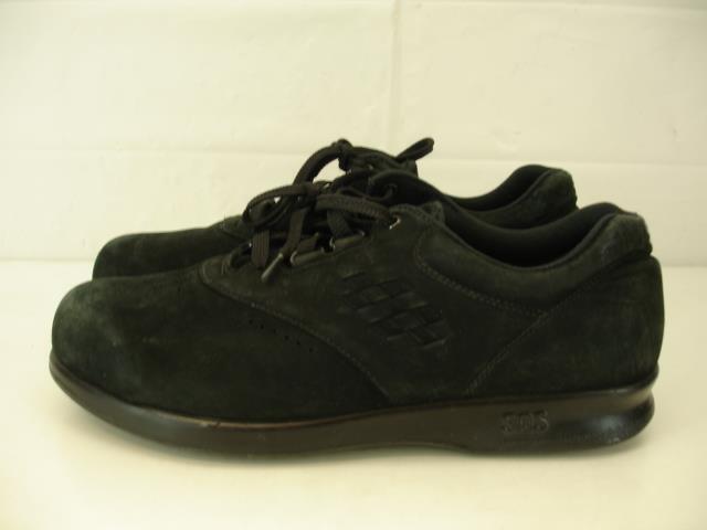 Womens 9.5 M SAS USA Freetime Black Oxfords shoes Leather Tripad Comfort Walking