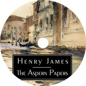Details about The Aspern Papers, a Henry James Classic Adventure Audiobook  on 4 Audio CDs