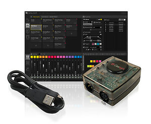 Daslight dvc gold dmx software package lighting controller disco
