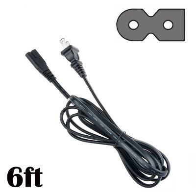 AC Power Cord Cable 3-Prong Plug for Sharp Aquos LC-60E79 LC-60E79U LCD HDTV TV