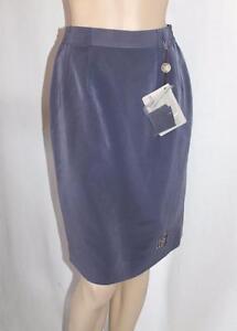 HARDY-AMIES-SPORT-Brand-Blue-Straight-Office-Skirt-Size-XS-BNWT-SK104
