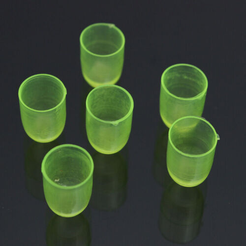 100Pcs Queen Bee Cell Cups Royal Jelly Cups Green Rearing Beekeeping Farmer Tool