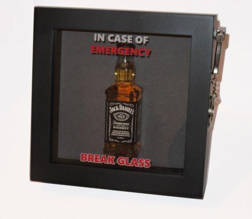 BIRTHDAY GIFT Emergency Break Glass 3d Box Frame Drink//Alcohol//Tea//Coffee