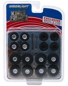 GREENLIGHT-Kings-of-Crunch-Monster-Trucks-Wheel-amp-Tire-Pack-1-64