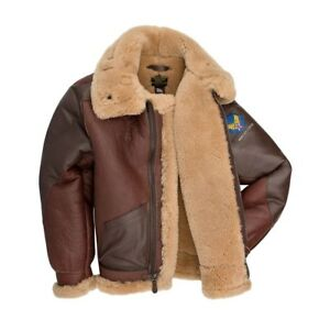 9274aabfa8c Cockpit USA 1941 Pearl Harbor B-3 Bomber Jacket Brown USA Made