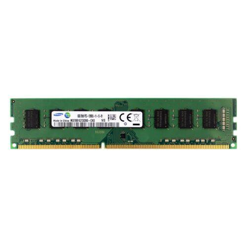SAMSUNG M378B1G73DB0-CK0 8GB 2Rx8 DDR3 PC3-12800U 1600MHz NONECC DIMM MEMORY RAM