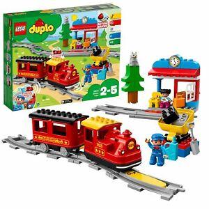 LEGO-DUPLO-My-Town-Steam-Train-Set-with-Action-Bricks-10874