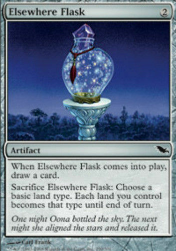 4 Elsewhere Flask mtg LP Shadowmoor x4 4x