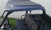 DEISEL polyehylene Hard Top Roof Kawasaki Mule 2500 3000 3010 4000 4010 GAS