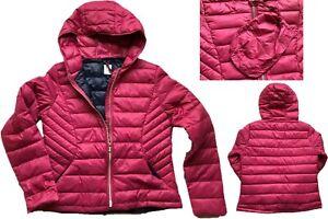 NEW-NEXT-Ladies-BERRY-PINK-Packaway-Padded-Puffa-Duck-Down-Coat-Jacket-50-6-24