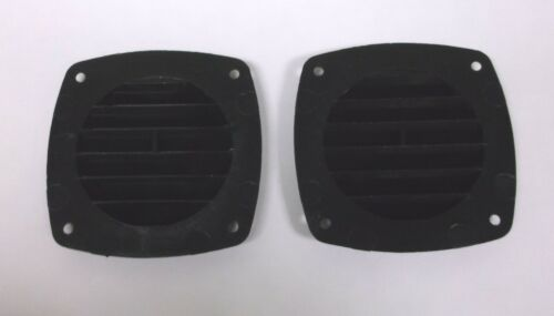 "2 Classic Plastimo Marine Grade Black 3-1//4/"" Multi Purpose Vents"