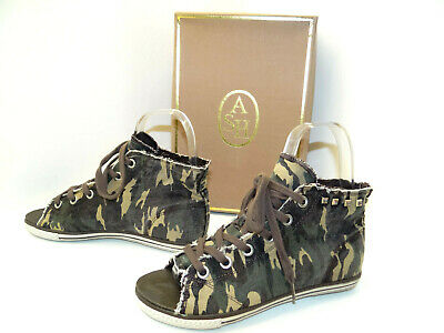 Ash High Heel Sneaker Sandalen Schuhe Damen Hablschuhe Sandalette Gr. 38 Warm Und Winddicht