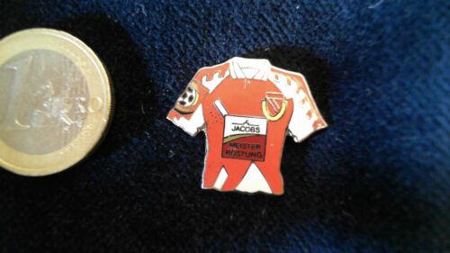 FC Energie Cottbus Trikot Pin 1998//1999 Home Jacobs Kaffee altes Logo Badge
