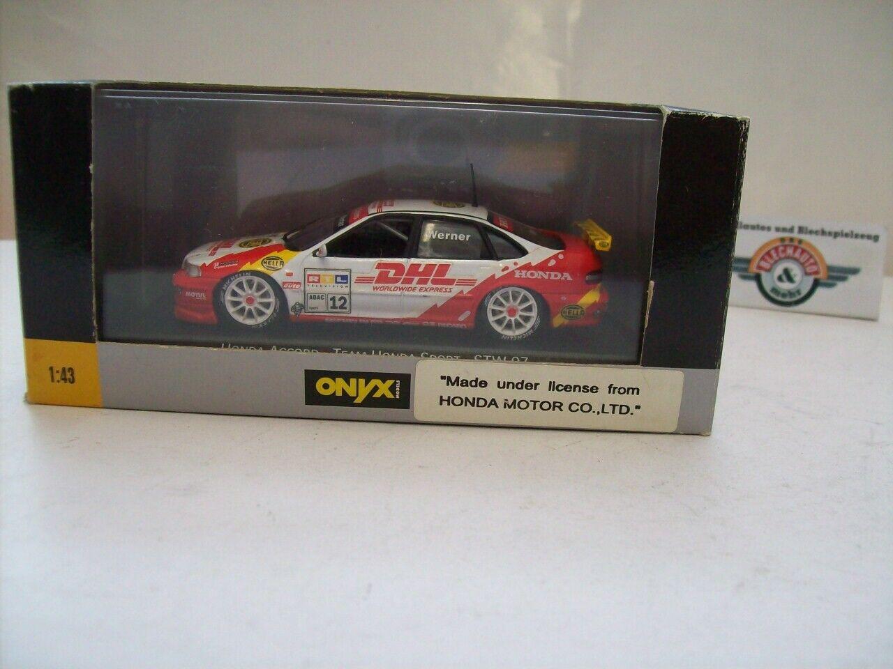 Honda Accord  Werner  STW STW STW 1997, Onyx 1 43, OVP b1918e