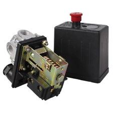 Heavy Duty Air Compressor Pressure Switch Control Valve 90 Psi 120 Psi 240v