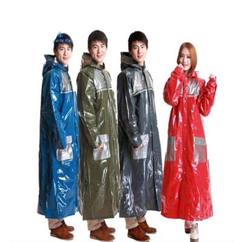 Travel Waterproof Raincoat Hooded Long Outdoor Clothing Hooded Rain Wear Covers