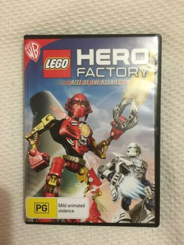 1 of 1 - LEGO HERO FACTORY - RISE OF THE ROOKIES (DVD, 2011) VERY GOOD CONDITION