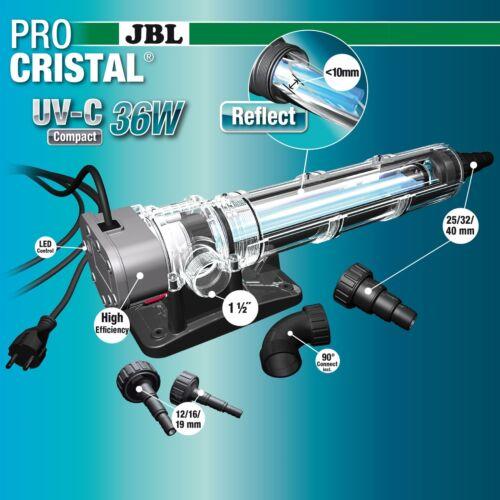 JBL procristal Compact UV-C 36 W hautes performances wasserklärer UVC Aquarium étang