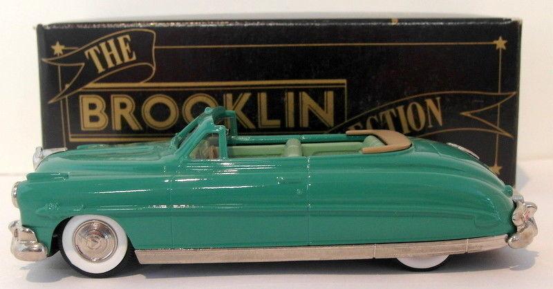 Brooklin maßstab 1  43 brk36 001 - 1952 hudson hornet cabrio grün