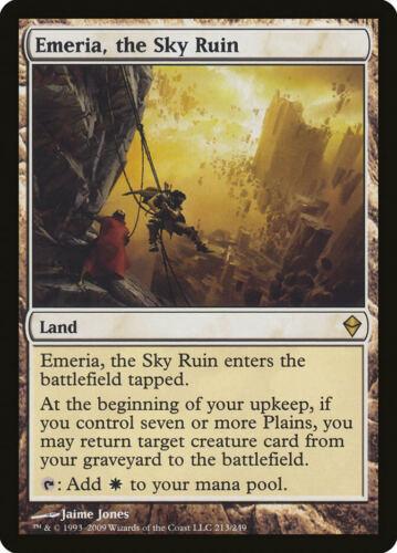 the Sky Ruin Zendikar Rare EN NM MTG Emeria