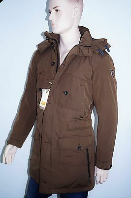 neu hugo boss parka gr 52 oscott w thermore herren mantel winterjacke ebay. Black Bedroom Furniture Sets. Home Design Ideas