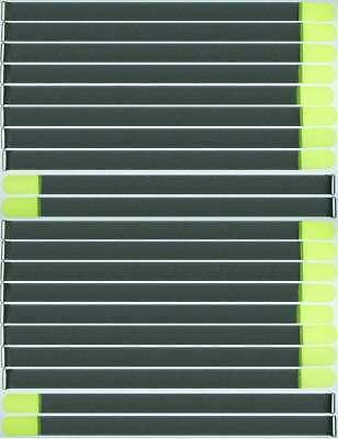 Gewissenhaft 20 X Kabelklettband Fk 80 Cm X 50 Mm Neon Gelb Klettband Klett Kabel Binder Band Einfach Zu Reparieren