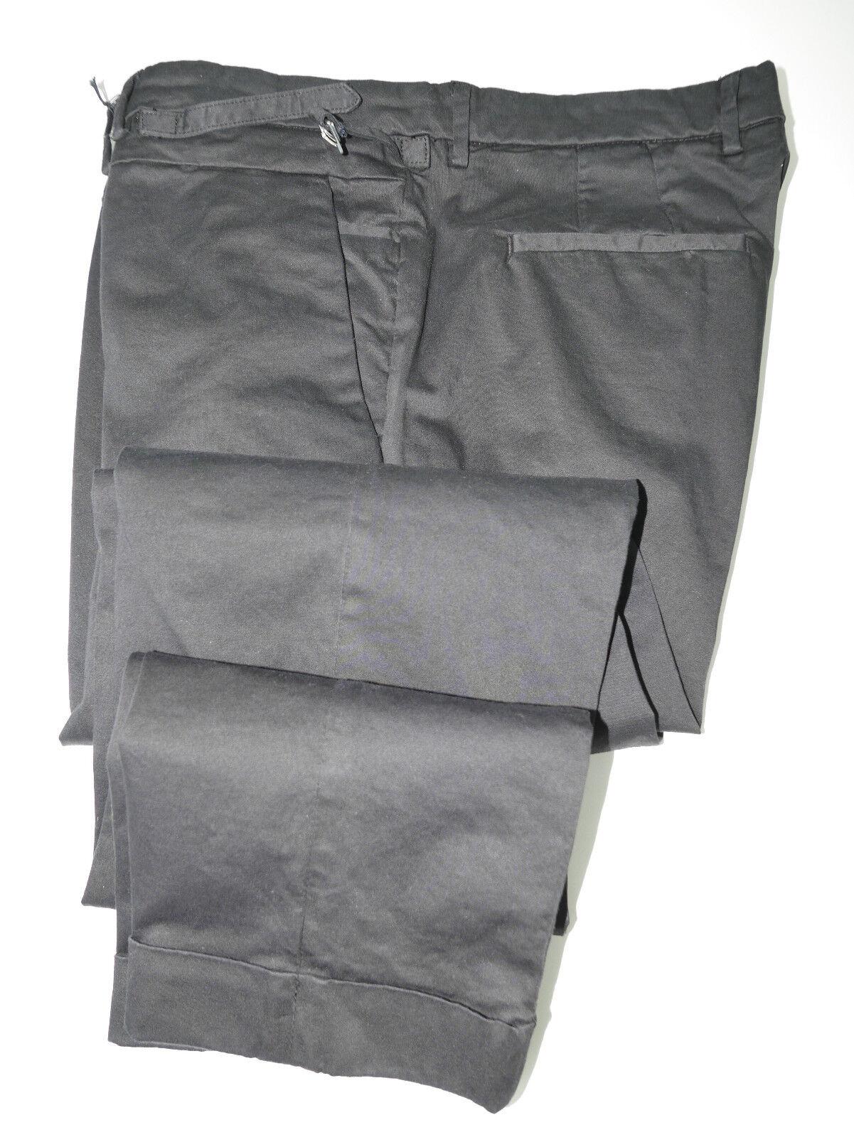 Gazzarrini Napoli 36 UK 52 EU Cotton SLIM Italian NWTs Pants Marco Hand Made