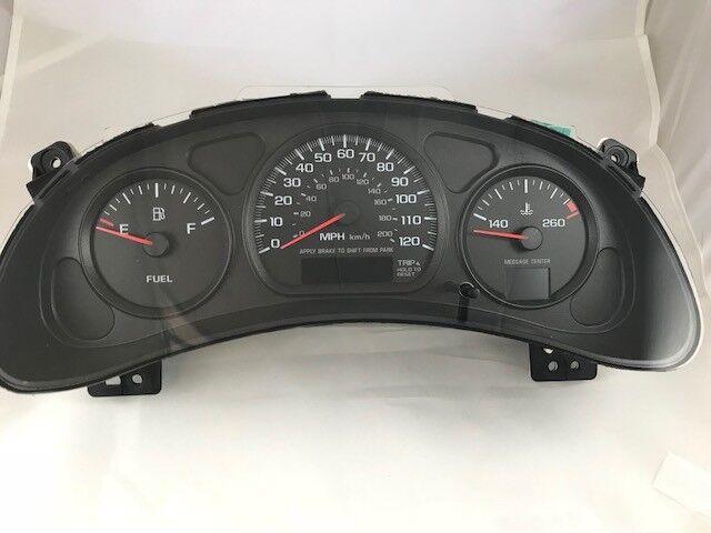 00 05 Chevrolet Impala Mph Instrument Cer Sdometer 10306205 163k Oem For Online Ebay