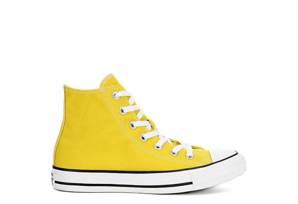 Converse Femme Chuck taylor all star star star seasonal high top-jaune lacets devant 73a9bf