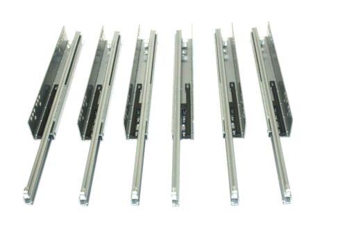3 Paire teilauszug teilauszüge extraits cisaillement encadré dirigeants de tiroir extrait 400 mm