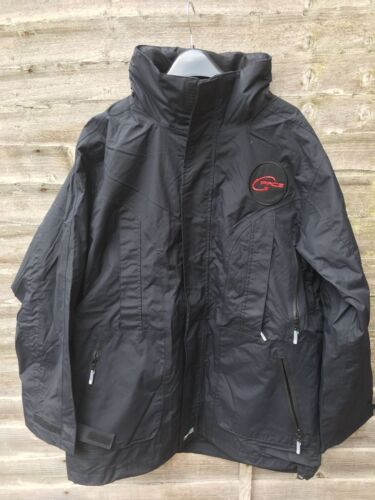 ubinas 455z a2 dynamic by sioen rain jacket size LARGE pacs logo on chest