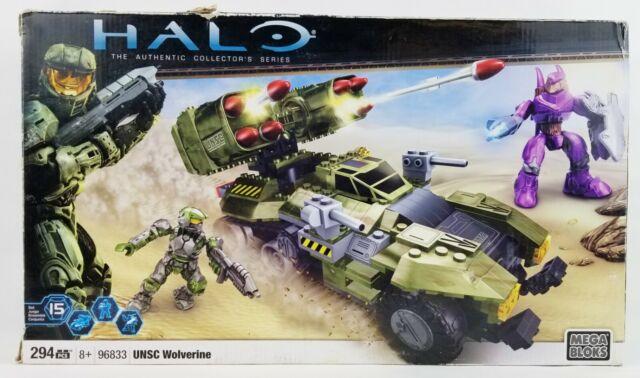 Halo Mega Bloks Set #96833 Covenant Purple Hunter Figure Complete