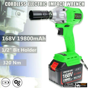 Heavy-Duty-Cordless-Impact-Wrench-Gun-Ratchet-Rattle-Nut-Gun-Power-320Nm-Torque