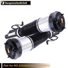 Pair Front Air Suspenison Strut for Mercedes S Class W220 S430 S500 S600 S55 AMG