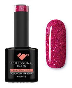 VB-2685-VB-Line-Hot-Pink-Glitter-Saturated-UV-LED-soak-off-gel-nail-polish