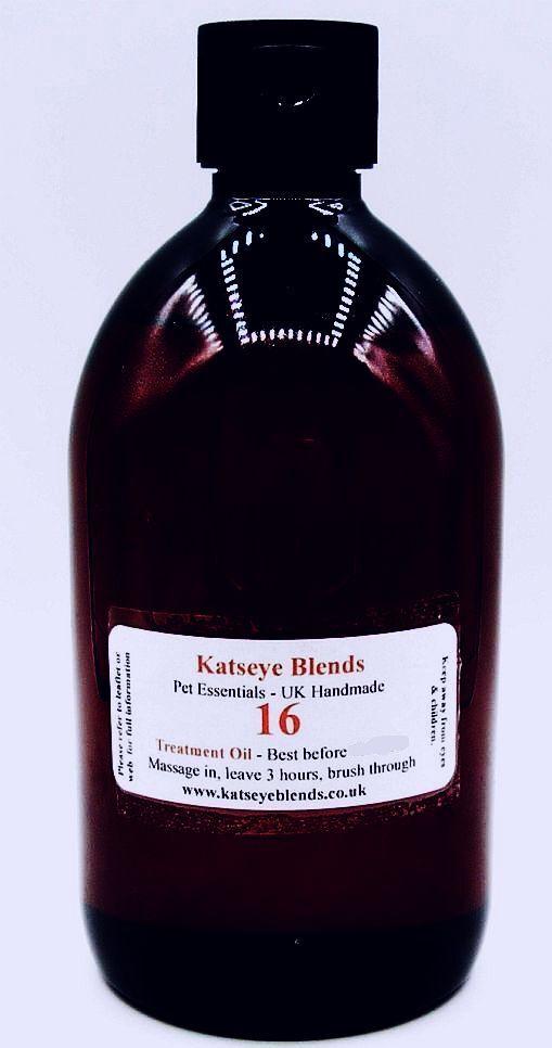 B16 Rogna Trattamento Olio per Cani x 500ml 100% Naturale