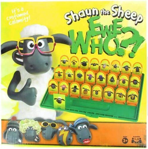Nouveau Shaun The Sheep Ewe Guess Who Jeu de Société-Wallace Gromit et