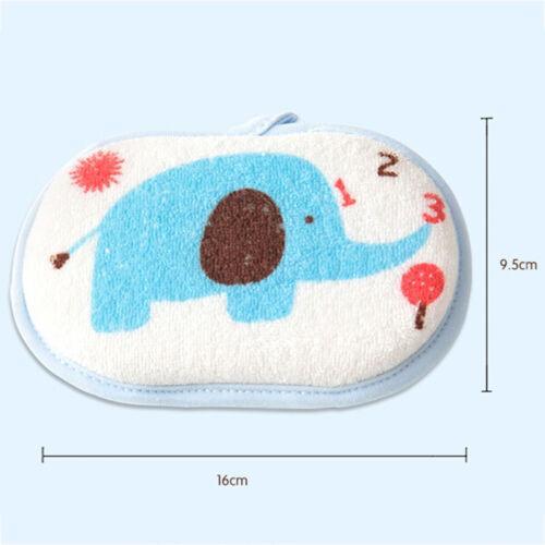 1PC cute cartoon baby bath brush soft bath sponge baby shower accessories EP