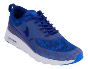 Womens NIKE AIR MAX THEA KJCRD Deep Royal Blue Trainers 718646 401