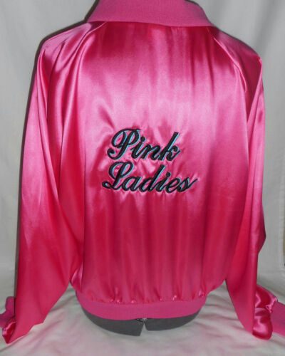 Deluxe Quality Pink Lady Costume Jacket Grease Pink Ladies Size XS